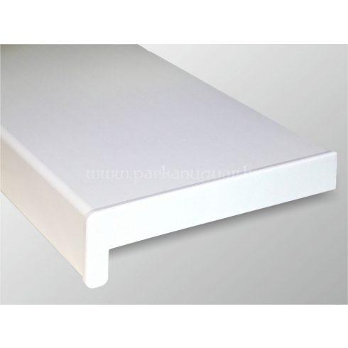 150 mm széles anyagában fehér műanyag univerzális párkány
